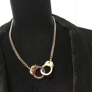 Jewelry - Handcuffs necklace